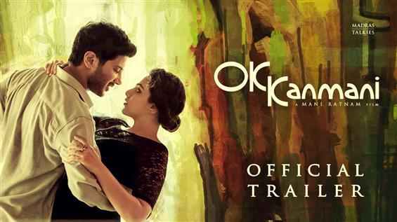 OK Kanmani Trailer - Tamil Movie Poster