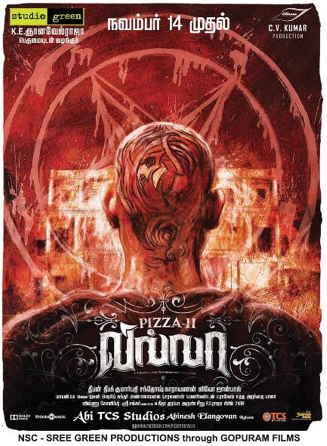 Pizza 2 The Villa Release Date Confirmed Tamil Movie