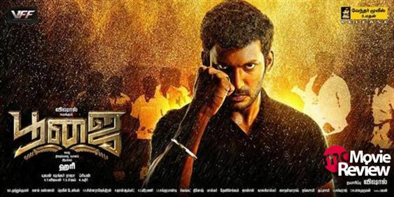 Poojai review - Expect the Expected - Tamil Movie Poster