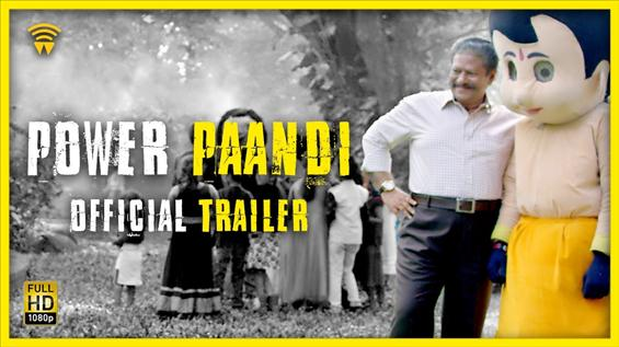 Power Paandi - Official Trailer - Movie Poster