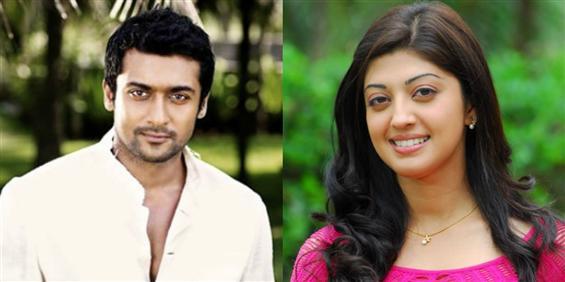 Pranitha Joins Masss     - Tamil Movie Poster