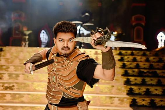 Puli audio release date  - Tamil Movie Poster