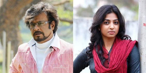 Radhika Apte confirms doing Rajinikanth's film - Tamil Movie Poster