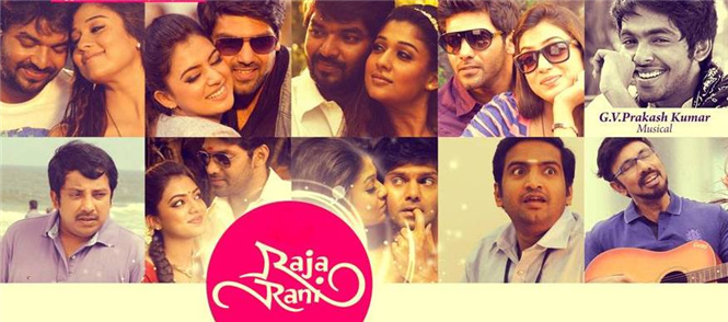 Raja Rani Songs Review