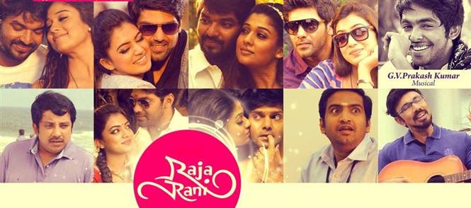 Raja Rani Songs Review