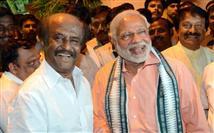 Rajinikanth supports Narendra Modi's Swachhata Hi ...