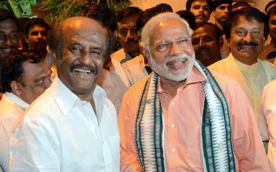 Rajinikanth supports Narendra Modi's Swachhata Hi Seva image