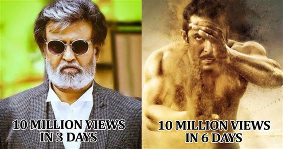 Rajinikanth's Kabali teaser is the fastest to reach 10 Million views on YouTube - Tamil Movie Poster