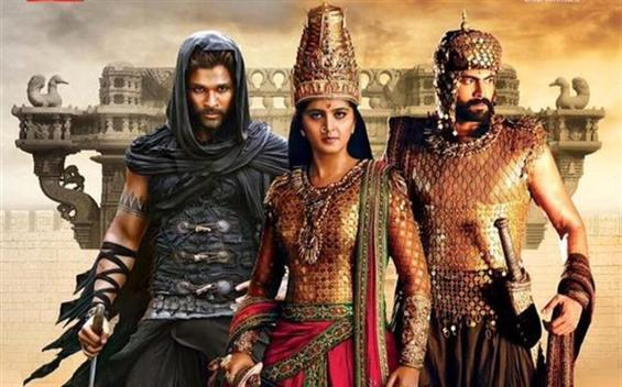 Rudhramadevi release date confirmed - Tamil Movie Poster