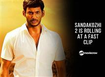 Sandakozhi 2 is rolling at a fast clip