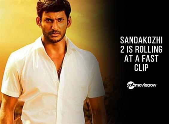 Sandakozhi 2 is rolling at a fast clip image