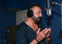 Sanjay Dutt records a Ganesh Aarti song for Bhoomi...