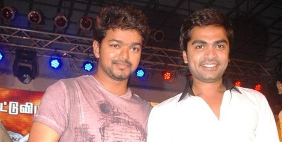 Simbu praises Kaththi songs - Tamil Movie Poster