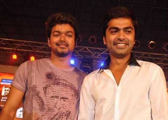 Simbu thanks Vijay for his moral support to Vaalu - Tamil Movie Poster