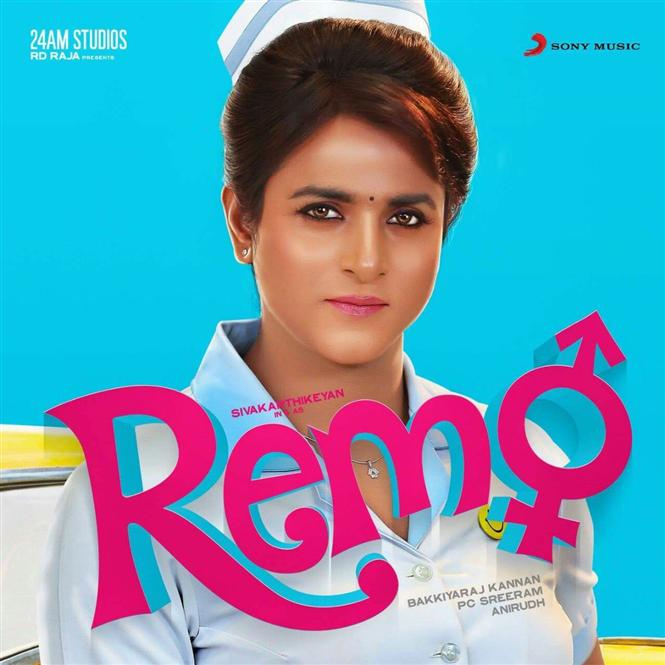 Sivakarthikeyan s remo first look tamil movie music reviews and news