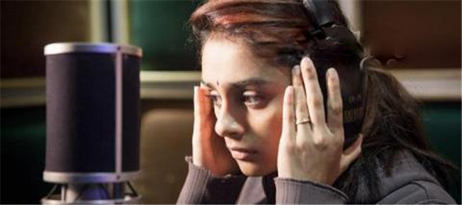 Super Singer Pragathi sings in Bala&#39;s Paradesi