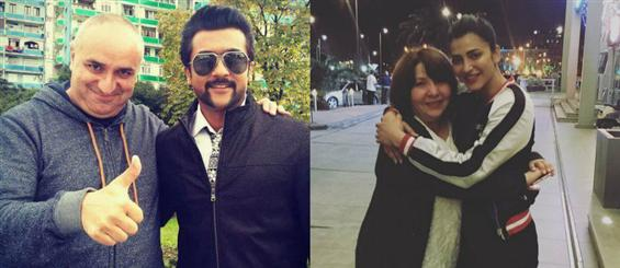 Suriya and Shruthi Haasan shoot in Georgia for S3 - Tamil Movie Poster