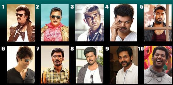 Tamil Actors Salary in 2015 - Tamil Movie Poster