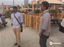 Team Mersal chilling in Dubai!