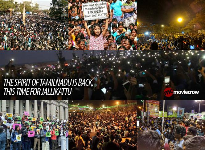 The spirit of Tamilnadu is back, this time for Jallikattu