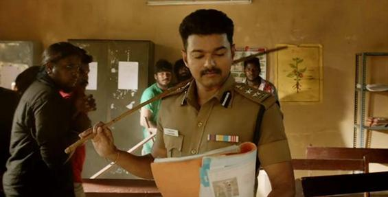 Theri breaks the records of Vedalam and I - Tamil Movie Poster