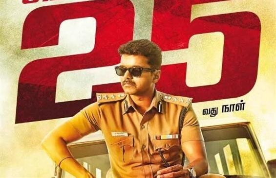 Theri completes 25 days