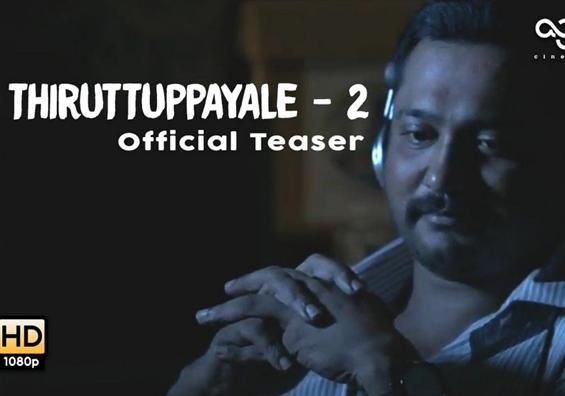 Thiruttuppayalae 2 - Official Teaser - Movie Poster