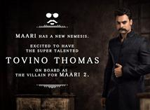 Tovino Thomas to play Villain in Maari 2