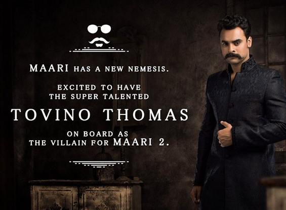 Tovino Thomas to play Villain in Maari 2 image