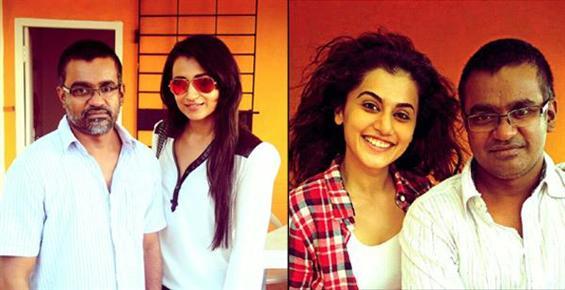 Trisha and Taapsee join Simbu - Selvaraghavan film - Tamil Movie Poster