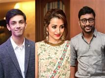 Trisha, Anirudh, RJ Balaji get honoured with prest...