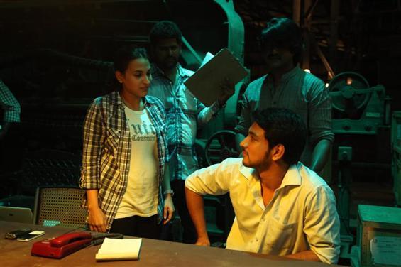 Vai Raja Vai working stills - Tamil Movie Poster