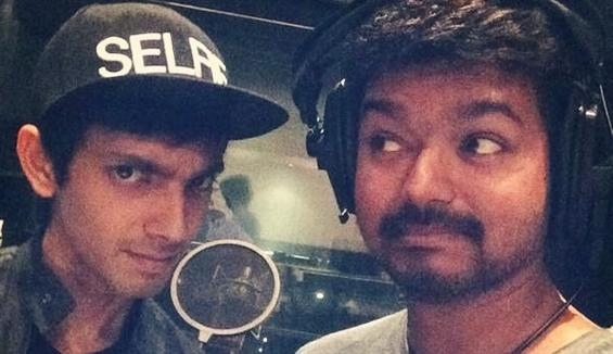 Vijay croons for Kaththi  - Tamil Movie Poster
