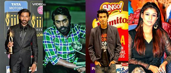 Vijay Sethupathi and Nayanthara team up for Dhanush's Naanum Rowdy Thaan - Tamil Movie Poster