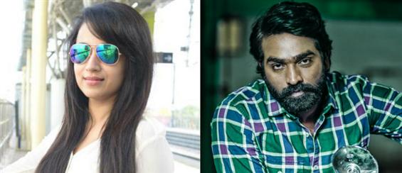 Vijay Sethupathi and Trisha to share screen space for the first time - Tamil Movie Poster