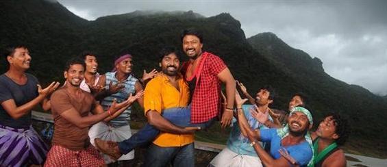 Vijay Sethupathi's Vanmam Audio launch Date announced - Tamil Movie Poster