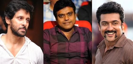 Vikram, Suriya, Mahesh Babu and Jayam Ravi get Harris Jayaraj - Tamil Movie Poster