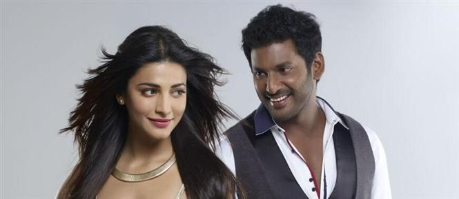 Vishal, Shruthi Haasan off to Switzerland for Poojai song shoot