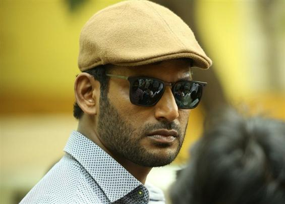 Vishal updates about Thupparivaalan's release  image