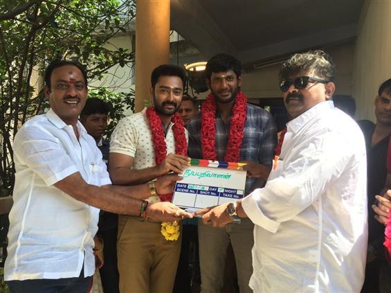 Vishal's Thupparivaalan Begins Today - Tamil Movie Poster