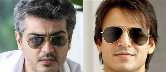 Vivek Oberoi to play villain in Ajith 57 - Tamil Movie Poster