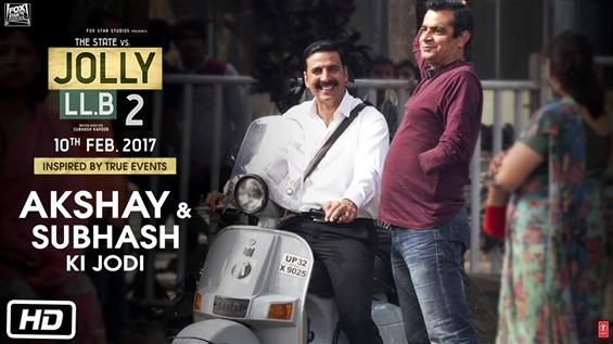 News Image - Watch Akshay Kumar having fun moments in the making of JollyLLB2  image