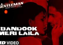 Watch 'Bandook Meri Laila' video song from AGentle...