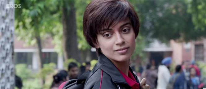 Watch Old School Girl Song Teaser from Tanu Weds Manu Returns' Hindi ...