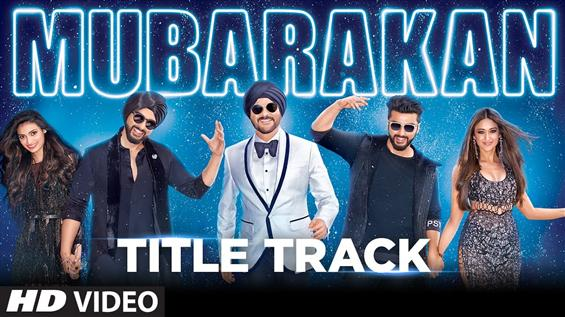 Watch 'Title Track' video song from Mubarakan - Movie Poster