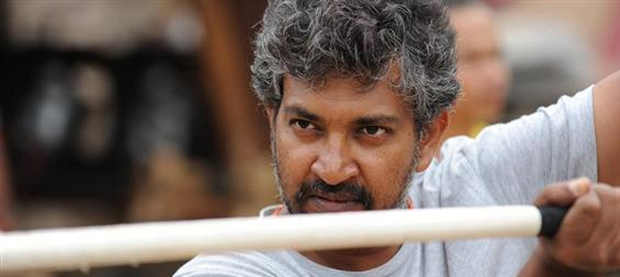 We will not block theatres for false records - SS Rajamouli  - Tamil Movie Poster