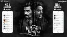 Yaanji from Vikram Vedha tops music charts on all ...