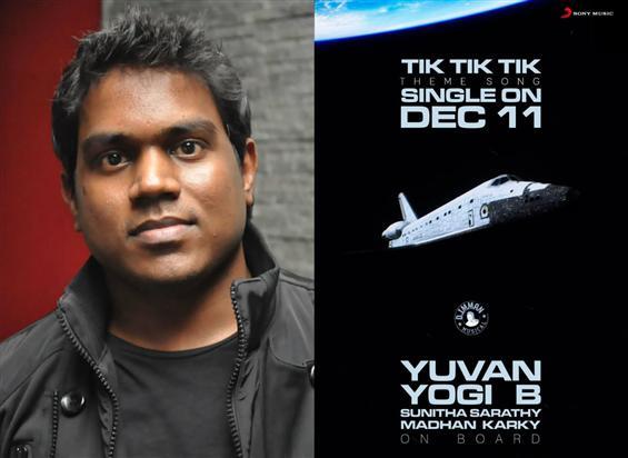 Yuvan croons for Jayam Ravi's Tik Tik Tik
