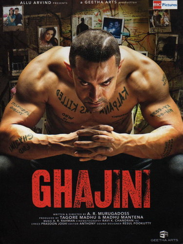 ghajini hindi movie photo gallery
