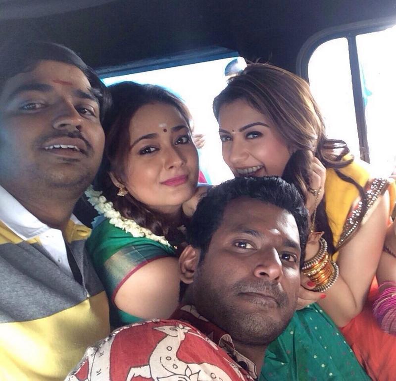 Murattu Kaalai Tamil Movie Stills: Ambala Shooting Spot Stills Tamil Movie, Music Reviews And
